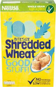 Nestle Bitesize Shredded Wheat (750g) was £3.19 now £1.59 @ Waitrose