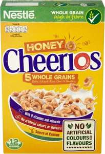 Nestle Honey Cheerios (375g) was £2.49 now £1.24 @ Waitrose