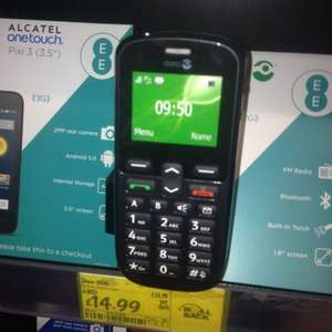 Doro phone easy - asda- no top up - in store for £14.99
