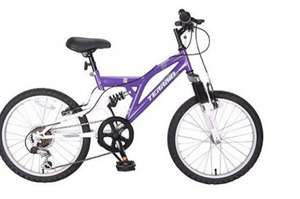 "Terrain Freemont 14"" Frame Purple Mountain Bike £45 - Tesco Direct - Save £115"
