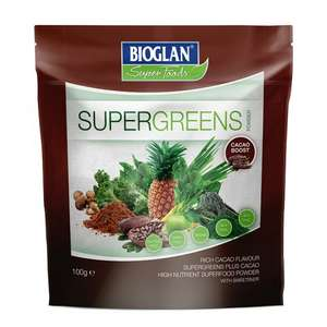 Supergreens with Cacao Powder Buy One get One for 1p @ H&B
