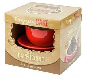 Cappuccino CuppaCake Gift Set £3.99 WAS £14.99 (Free C&C) @ Argos