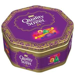 Nestle Quality Street Tin 1.31kg was £7.99 now £5.99 @ B&M