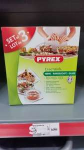 Pyrex Casserole Set of 3 (2.3L, 1.6L and 1L) for £6 ASDA