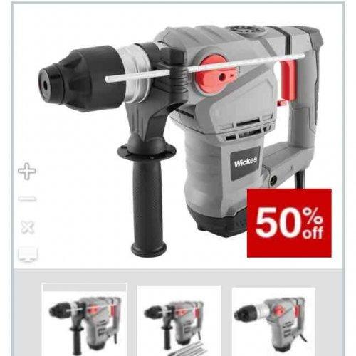 Wickes 1500W SDS Plus Drill - £39.99
