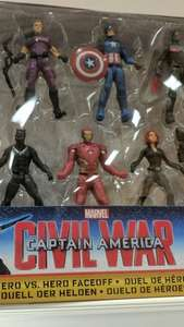 Tesco -  Captain America Marvel Civil war £6.25 instore