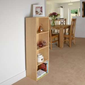 Cheap and cheerful bookcase/ shelving unit. - £12.99 + delivery @ Amazon / This Is It Famous Value Stores.