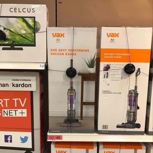 Vax U90 air-reach bagless vacuum - reduced to £65 Sainsbury's instore