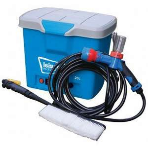 Car-A-Wash - 12v Portable Caravan/Car Cleaning Kit @ Towsure £36.90 delivered
