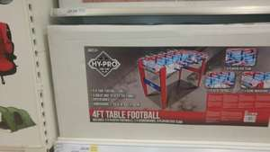 4ft table football £20 instore @ Tesco