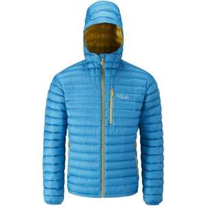 Rab Men's Microlight Alpine Jacket merlin colourway s xl xxl sizes only @ outdoorkit.co.uk - £107.99