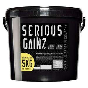 Bulk protein 5kg - £26.98 delivered @ Bodybuilding Warehouse