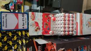 Kinder joy Christmas - 29p each @ Heron