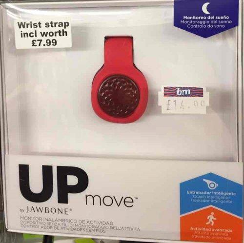 Jawbone UP Move inc. Wrist Strap - £14.99 @ B&M instore