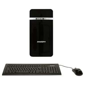 Zoostorm AMD A6 6400K Desktop PC, 1TB HDD, 6GB RAM, Win 10, DVD-RW, Keyboard & Mouse included
