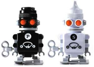 'Suck UK' Robot Salt & Pepper shakers - £3.60 Prime / £5.59 Non Prime @ Amazon