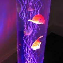 Colour changing bubble fish motion lamp £24.99 instore B&M colchester