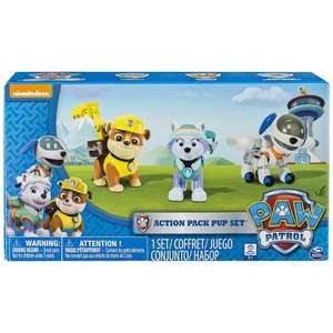 Paw Patrol Action Pups with Robo Pup - normally £20, now £12.99 + £2 C+C @ John Lewis