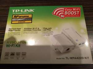TP-Link AV600 Powerline WiFi kit £29.99 instore at Sainsbury's (Chapelford, Warrington)