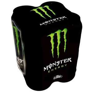 Monster assault energy drink 4x500ml £1.99 in b&m colchester