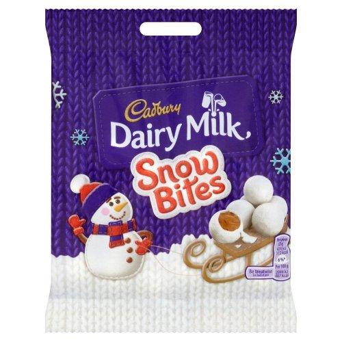 Cadbury Dairy Milk Chocolate Snowbites 90 g (Pack of 24) £14.99 (Prime) £19.74 (Non Prime) RRP £27.60 @ Amazon