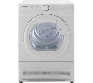 HOOVER VTC5911NB Condenser Tumble Dryer - White  £199.99 @ Currys
