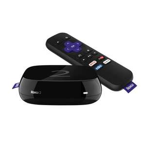 Roku 2 Streaming Media Player (4205E) with Faster Processor (2015 model)  £29.99  Amazon (DOTD)