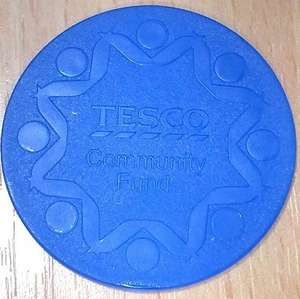 Tesco Community Charity Tokens can be used as a Free Trolley Coin