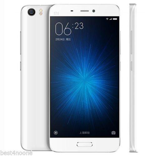 Xiaomi Mi5 5.15-inch 3GB RAM 32GB ROM Snapdragon 820 Quad Core 4G White Smartphone £179.52 @ BangGood