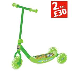 Teenage Mutant Ninja Turtles Half Shell Heros Tri-Scooter £7.99 argos