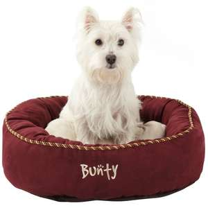 Medium Dog Bed Choice of Colours £9.99 @ Buntypetproducts