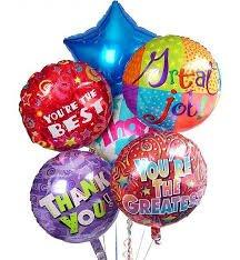 foil Helium Balloons £2 Poundland