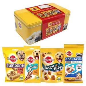 Pedigree Treat tins were £5.00, now 75p each!! @ Tesco