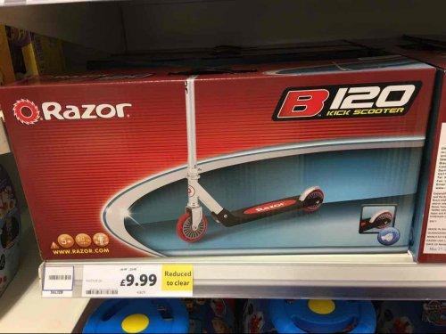 Razor B120 Stunt Kick Scooter Was £40 Now £9.99 Tesco in Stores