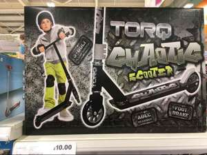 Torq Stunt Scooter  was £25 now £10 Tesco in Stores