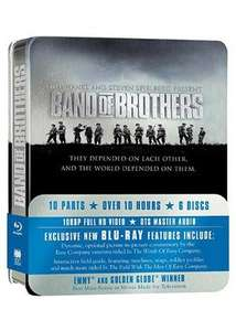 Band Of Brothers Blu-Ray Complete Series (Commemorative 6-Disc Gift Set In Tin Box - Base £13.69