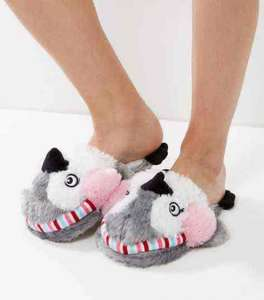 New Look novelty slippers reduced to £4 from £14.99 ONLINE