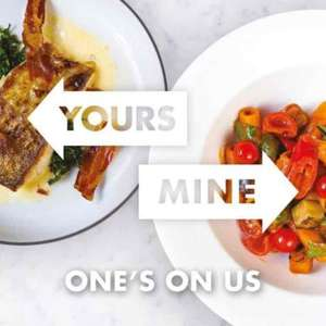 One's On Us - (2-4-1) on the set menu at several of Gordon Ramsey's restaurants in London starting from £10 pp