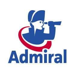 Admiral single car policy £45, Multicar £70 cashback QUIDCO