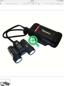 Moon ADJ-1300 lumen Rechargeable LED Front Bike Lights down to £79.99 @ Merlin cycles (£130 elsewhere