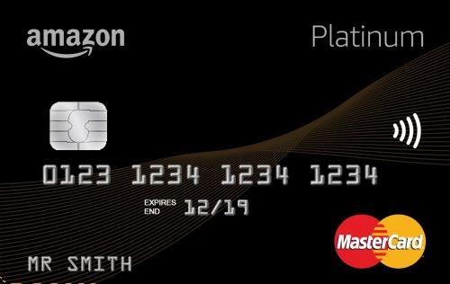 Amazon Platinum Mastercard £10 Amazon giftcard credit upon acceptance