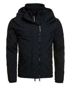 Superdry Quilted Hooded Polar Windcheater Black £47.99 @ superdry eBay with free P&p