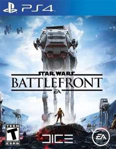 Star Wars Battlefront PS4 New Copy delivered £10 @ Tesco Direct