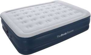 Premium Queen Size Double Air Bed with a Built-in Electric Pump and Pillow £41.99 Sold by The Body Source and Fulfilled by Amazon
