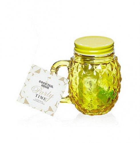 Debenhams Pineapple shaped mug and cocktail syrup gift set £3 50% off