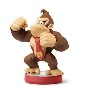 Donkey Kong / Diddy Kong / Wario (2016) amiibo £7.99 each (Wii U/3DS) @ GAME/Amazon (Amazon + £1.99 for non prime)