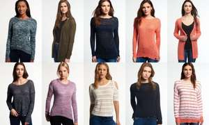 Superdry Women's Knitwear 29 designs to choose from now £14.99 delivered @ eBay sold by Superdry