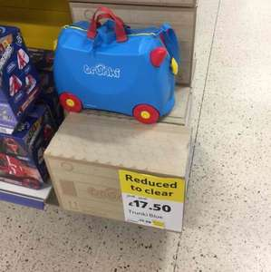 Trunki Ride-On Blue Suitcase - £17.50 instore @ Tesco Direct, Rutherglen