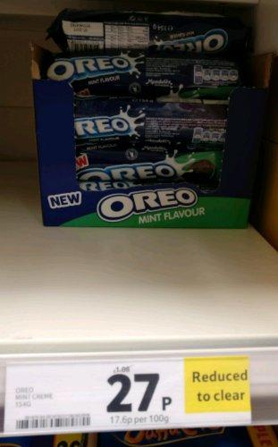 Oreo Mint Creme 154g 27p instore @ Tesco - Fareham