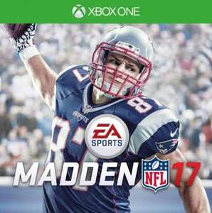 Madden NFL 17 Xbox one on cdkeys.com - £37.99